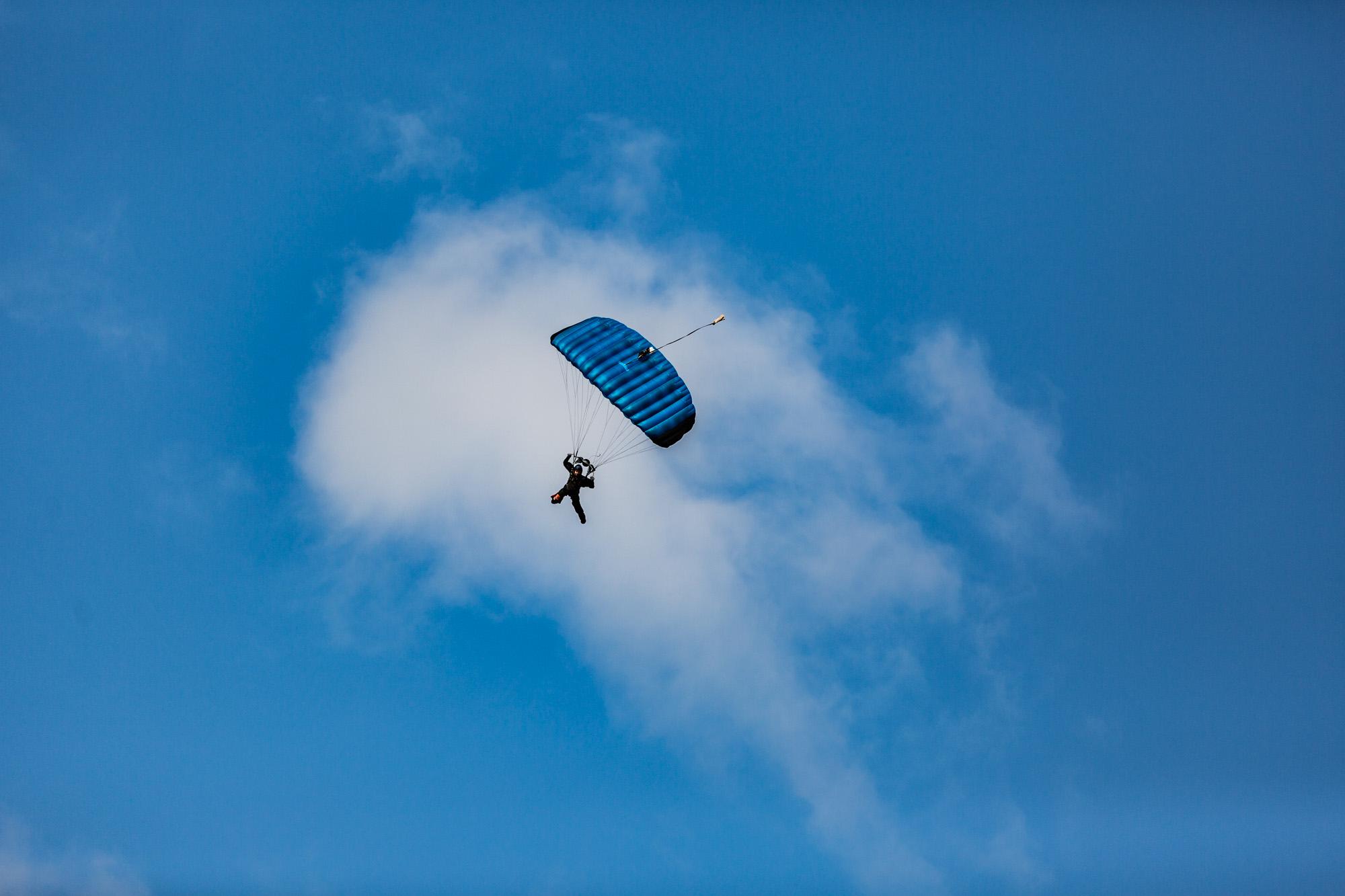 Fallschirm bei der DM 2018